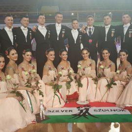 Hétvégén rendezték meg Pécsett a Formációs Táncok Standard Világbajnokságát